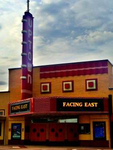 Facing East at the Uptown Theatre in Dallas